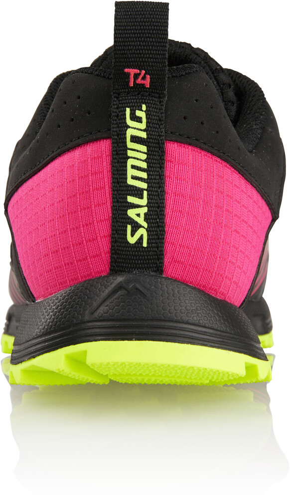 Salming Trail T4 - Chaussures running Femme - rose/noir US 8